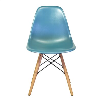 Fremont Mid-Century Modern Retro Dining Chair Color: Teal