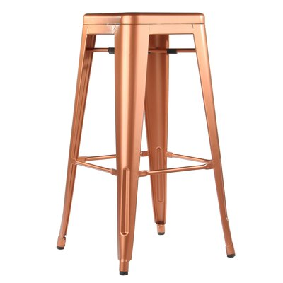 Worsley Bar Stool Size: 30 H x 13 W x 13 D