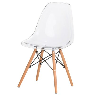 Paula Modern Retro Solid Wood Dining Chair
