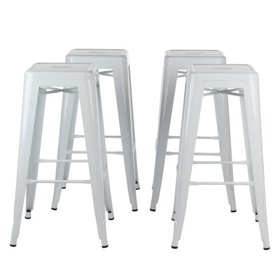 Norberg Metal Industrial 30 Bar Stool