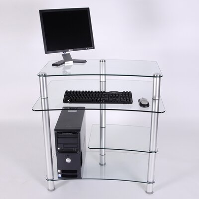 32 W Computer Desk with Keyboard Tray image