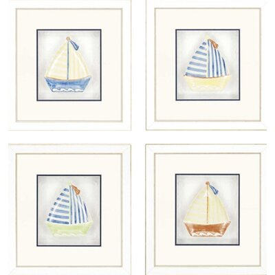Sailboat Plates by Unknown Sports & More Art (Set of 4) - 18