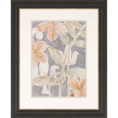 Rainforest Fresco I Framed Painting Print 7019