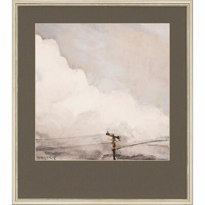 Fair Sky III Framed Painting Print