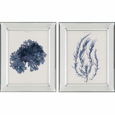 Seaweed I by Bradbury 2 Piece Framed Painting Print Set 1173