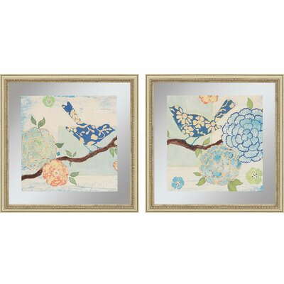Heavenly II by Studio M 2 Piece Framed Painting Print Set 7102