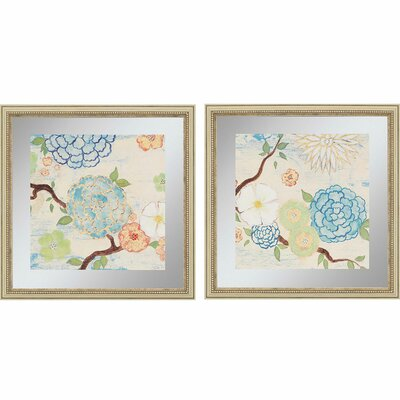 Heavenly I by Studio M 2 Piece Framed Painting Print Set 7101