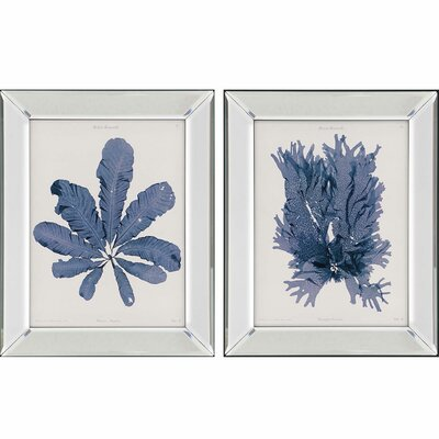Seaweed II by Bradbury 2 Piece Framed Painting Print Set 1174