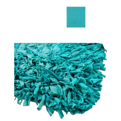 Calypso Jersey Aqua Area Rug Rug Size: Rectangle 47 x 77