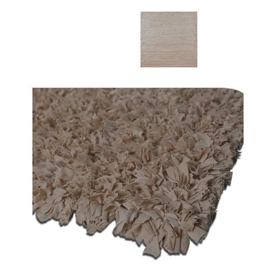 Calypso Jersey Beige Area Rug Rug Size: Rectangle 47 x 77