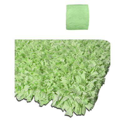 Calypso Jersey Green Area Rug Rug Size: Rectangle 36 x 56