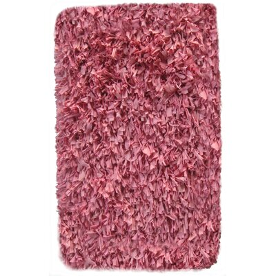 Calypso Jersey Pink Area Rug Rug Size: Rectangle 36 x 56