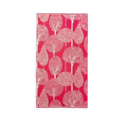 Silhouette Hand Towel Color: Berry