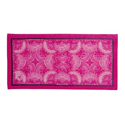 Petra Beach Towel Color: Pink