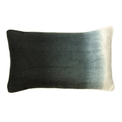 Sumatra Cotton Lumbar Pillow Color: Charcoal