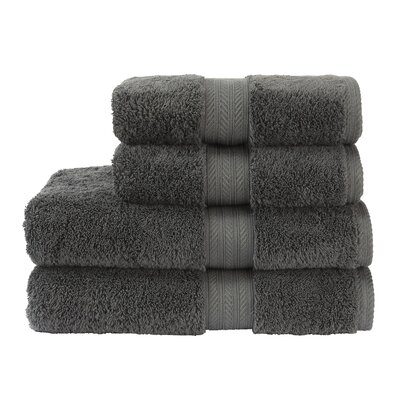 Blake Bath Towel Color: Ash Grey