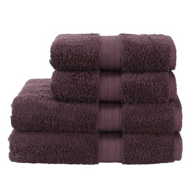 Blake Bath Sheet Color: Fig