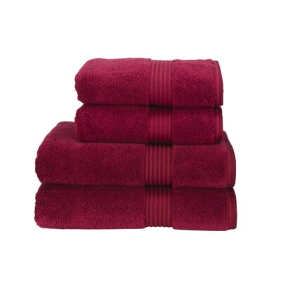 Supreme Hygro US Bath Towel Color: Cherry