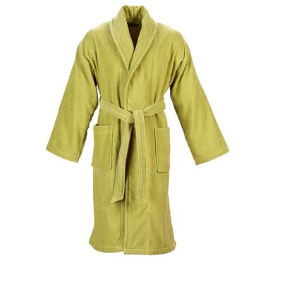 Christy Supreme Robe Bathrobe Color: Green Tea, Size: Small
