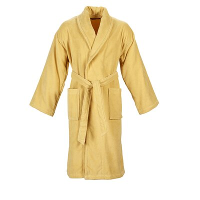 Christy Supreme Robe Bathrobe Color: Honey, Size: Small