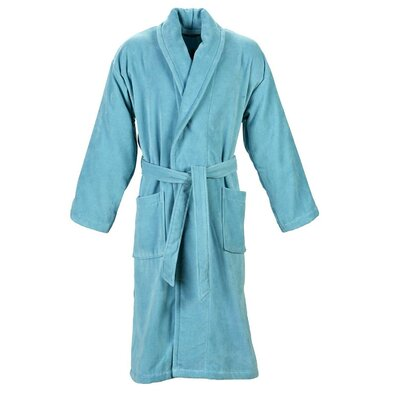 Christy Supreme Robe Bathrobe Size: Extra Large, Color: Lagoon