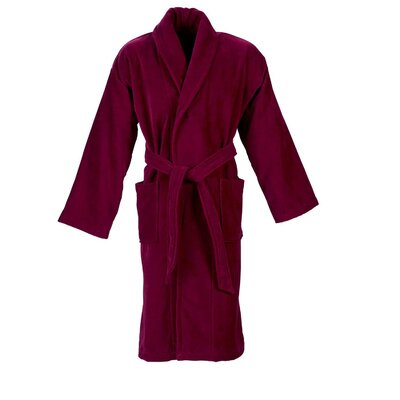 Christy Supreme Robe Bathrobe Color: Raspberry, Size: Medium