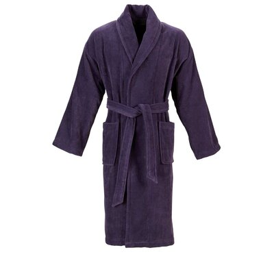 Christy Supreme Robe Bathrobe Color: Thistle, Size: Small