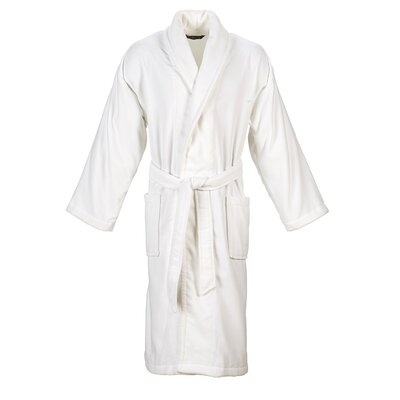 Christy Supreme Robe Bathrobe Size: Small, Color: White
