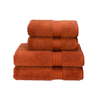 Barrett Hygro US Hand Towel Color: Paprika