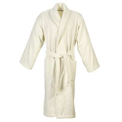 Christy Supreme Robe Bathrobe Size: Large, Color: Almond