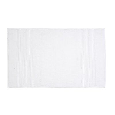 Renaissance Bath Mat Color: White