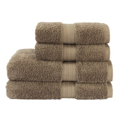 Renaissance Bath Towel Color: Mink