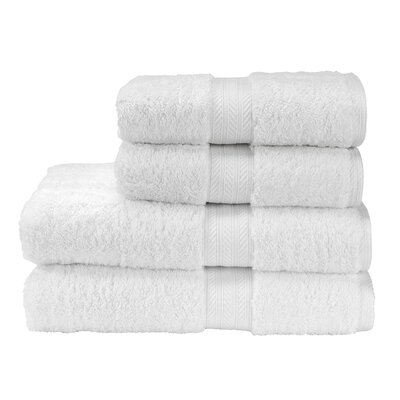 Renaissance Bath Towel Color: White