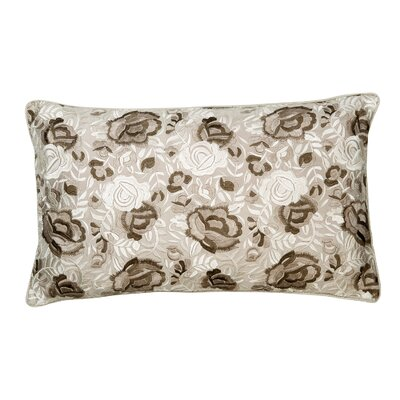Rosa Silk Lumbar Pillow