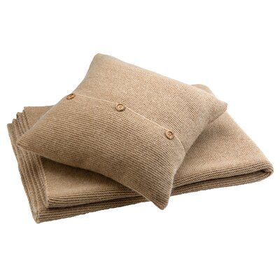 Karina Throw Pillow Color: Dune