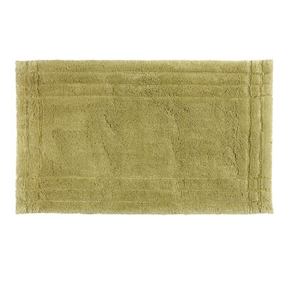 Eugene Bath Mat Size: Large, Color: Green Fern