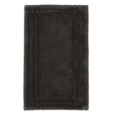 Eugene Bath Mat Size: Medium, Color: Graphite