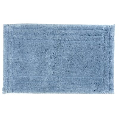Eugene Bath Mat Size: Large, Color: Soft Chambray