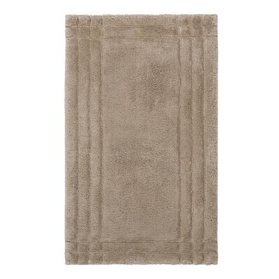 Eugene Bath Mat Size: Medium, Color: Stone