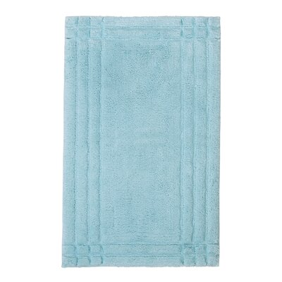 Eugene Bath Mat Size: Medium, Color: Icicle