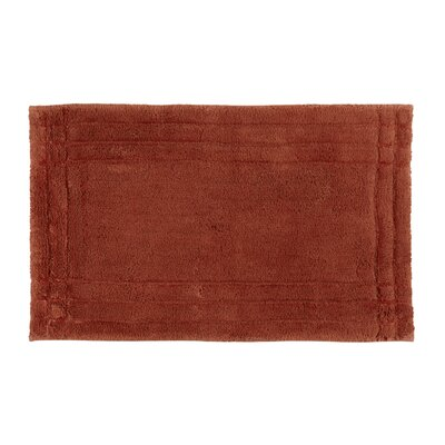 Eugene Bath Mat Size: Medium, Color: Spice