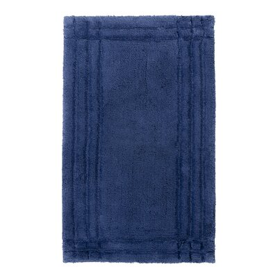 Eugene Bath Mat Size: Large, Color: Deep Sea