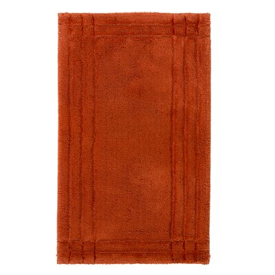 Eugene Bath Mat Size: Medium, Color: Paprika
