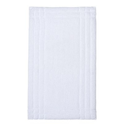 Eugene Bath Mat Size: Medium, Color: White