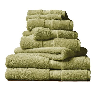 Blake Hand Towel Color: Green Fern
