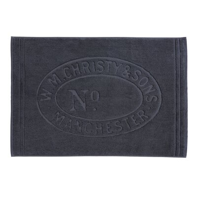 Heritage Tub Mat Color: Graphite