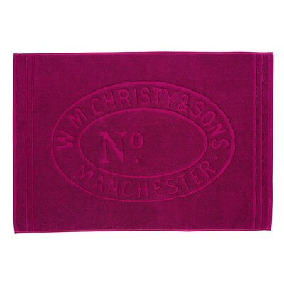 Heritage Tub Mat Color: Raspberry