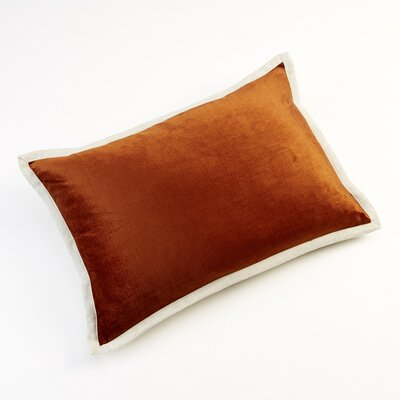 Horizon Throw Pillow Color: Rust