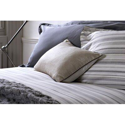 Malmo Linen Throw Pillow Color: Pewter