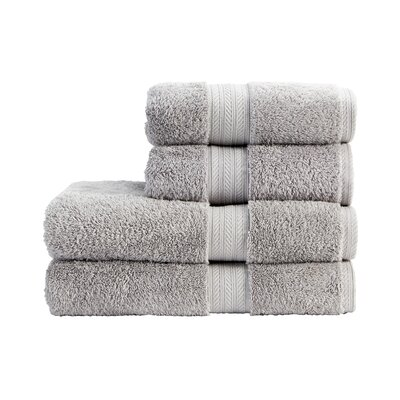 Blake Hand Towel Color: Dove Grey